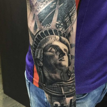 tattoo-estatua-libertad